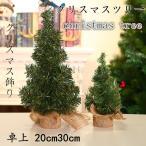 クリスマスツリー 卓上 20cm30cm デコレーションツリー ミニツリー クリスマス飾り オートメイト おしゃれ プレゼント 簡単な組立品 部屋 商店