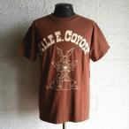 BACKDROP バックドロップ別注×ワーナーブラザーズ ショートスリーブTシャツ ワイリーコヨーテ(ブラウン