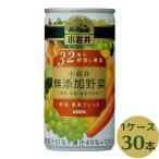 小岩井 無添加野菜 32種の野菜と果実 190g×30本 缶