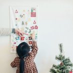 アドベントカレンダー 手作り キット クリスマス 飾り付け 手作り キット タペストリー 準備