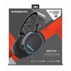 SteelSeries Arctis 5 ゲーミングヘッドセット RGBイルミネーション DTS ヘッドホン 7.1 chサラウンド