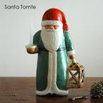 Lisa Larson(リサ ラーソン)Santa Tomte(サンタ・トムテ)サンタクロース キャンダルホルダー北欧オブジェ・置物