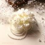 入学式・卒業式・結婚式にピッタリ♪ホワイトのダリア