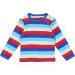(フィクソーニ)FIXONI 北欧ブランド 綿100%カラフルボーダー長袖Tシャツ