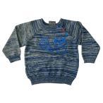 (フィクソーニ)FIXONI 北欧ブランド ラクーンプリントニットセーター
