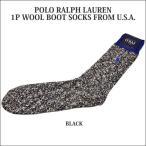 POLO RALPH LAUREN(ポロ ラルフローレン)1P WOOL BOOT SOCKS(ウール ブーツソックス)FROM U.S.A.