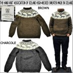 THE HAND KNIT ASSOCIATION OF ICELAND  HIGH-NECKED SWEATER MADE IN ICELAND