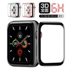 Apple Watch 4 ���饹�ե���� 44mm 40mm Apple Watch Series 4 �ݸ�ե���� 38mm 42mm Apple Watch Series 3/2/1 �������饹 �վ��ݸ�ե���� 3D����