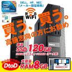 ショッピングOffice Office2013搭載 中古パソコン HP製Pro6005 高速2.7GHz メモリ2GB HDD1000GB DVD再生 Windows7Pro32 「あすつく対象品」