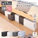 衣装ケース プラスチック 引き出し チェスト 1段 プラストベーシックFR1701 押入れ収納 衣替え 衣類収納 収納ボックス 収納ケース