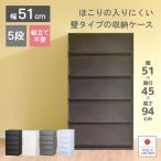 衣装ケース 収納ケース プラスチック 引き出し チェスト 5段 プラストベーシックFR5105 押入れ収納 衣替え 収納ボックス おしゃれ
