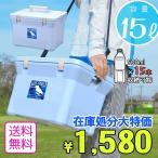 伸和 SHINWA  日本製 クーラーボックス アクアタイプ バードクーラー15L ライトブルー