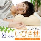 枕 いびき 枕 首こり 肩こり 洗える枕 35×50cm