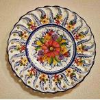 ポルトガル製 輸入雑貨 ハンドペイントが美しい絵皿 壁飾り アルバレスシリーズ