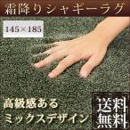 ラグ ラグマット シャギーラグ シャギーラグカーペット 1〜2畳用 長方形  洗える