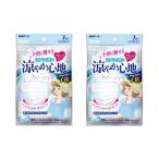 【2個セット】白元アース ビースタイル プリーツタイプ  涼やか心地 7枚入×2点  計14枚   「衛生商品のためキャンセル不可」