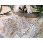 カトラリーレスト カトラリー テーブルウェア IVV Violetta・ヴィオレッタ クリスタルナイフレスト ナイフ、フォーク置き