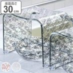 風呂椅子 風呂イス クリアローズ バスチェア Lサイズ ( 送料無料 フロイス 風呂いす バス用品 )