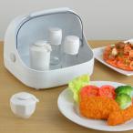 Yahoo!リビングート ヤフー店調味料ケース 卓上フード付きケース 小 プラスチック製 ( 卓上収納 キッチン収納 フード付きケース )