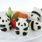 おにぎり押し型 パンダおにぎり ベビー ( キャラ弁 お弁当グッズ 海苔カッター )