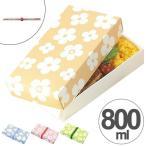 Yahoo!リビングート ヤフー店折り畳みランチボックス 一段 800ml ネイチャー 日本製 スリム ( お弁当箱 ランチボックス サンドイッチケース ) 新商品 08