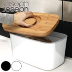 Joseph Joseph ジョゼフジョゼフ ブレッドケース 10L フタ付き ( 保存容器 スチール製容器 食パンケース )