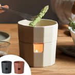 Yahoo!リビングート ヤフー店キントー KINTO バーニャカウダ KAKOMI 鍋 キャンドル付 ( バーニャカウダポット 電子レンジ対応 食洗機対応  )|新商品|10