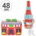 風呂敷 中巾 福コチャエ 東京サーモンピンク 48cm ランチクロス ( ふろしき 日本製 お弁当包み )