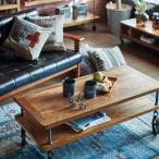 ローテーブル センターテーブル 車輪付 ミッドセンチュリー リベルタ 幅110cm ( 机 テーブル リビングテーブル コーヒーテーブル )