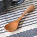 スプーン 木 長さ12.4cm S knob 木製 カトラリー 食器 ( 木製スプーン キャンプ アウトドア 天然木 すぷーん )