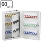 キーボックス 60個吊 壁掛け 壁掛け 携帯 兼用 2WAY 持ち運び ( ケース 大型 鍵 保管 セキュリティ ボックス )