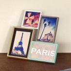 フォトフレーム L判 多面 4枚 壁掛け 卓上 写真立て ブリストル コラージュ ( フォトスタンド 写真フレーム 写真たて )