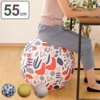 イス バランスボール 55cm カバー付 moiku ( 椅子 いす シーティングボール )