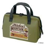 ランチバッグ 保冷 がま口型 ミッキーマウス アウトドア ( ミッキー 保冷バッグ お弁当袋 お弁当入れ がまぐち 持ち手付き )
