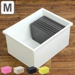 収納ボックス ファボーレヌーヴォ CD・DVDケース ボックスM ( 収納ケース 衣装ケース プラスチック おもちゃ箱 )