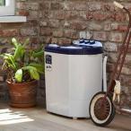 マイセカンドランドリー 二槽式洗濯機 3.6kg ( 洗濯機 小型 ミニ ランドリー 脱水機能 )