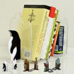 ブックエンド 本立て ブックススタンド DESKTOPNATURE BookEnds ( 卓上 ブックラック 本収納 )