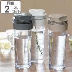 冷水筒 スリムジャグ 1.1L 横置き 縦置き 耐熱 日本製 同色2本セット ( 麦茶ポット ピッチャー 水差し 熱湯 白 )