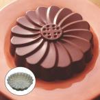 ケーキ型 マルグリット型 20cm 焼き型 スチール製 クロームメッキ ( お菓子型 マーガレット型 焼型 製菓道具 )