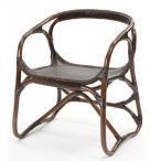 籐 チェア ラタン家具 Handmade 座面高40cm ( 椅子 アームチェア チェアー ラタン ラタン製 籐製 アジアン アジアン家具 )