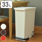 分別ゴミ箱 縦型ペダルペール オルア ora 33L キャスター付 ( ごみ箱 ダストボックス スリム キッチン )