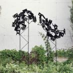 ガーデンオーナメント トレリストランプ兵士 ガーデンフェンス ( 置物 オブジェ ガーデン エクステリア 園芸 セトクラフト )