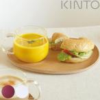 ランチプレート&カップ カフェランチセット フィーカ 木製 ( マグ コップ 皿 )