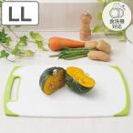 まな板 耐熱抗菌まな板 LL プラスチック ラバー付き 食洗機対応 ( プラスチック製 抗菌まな板 カッティングボード )