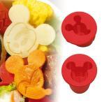 抜き型 ミッキーマウス キャラ弁 野菜抜き型 キャラクター ( お弁当抜き型 デコ弁 )