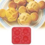 キャラクター シリコンケーキ型 ミッキーマウス ( 製菓用具 マドレーヌ型 シリコン製 )