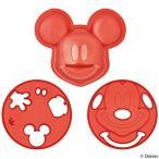 ご飯抜き型 ミッキーマウス キャラカレー デコ型 押し型 ( ご飯型 ライス型 おにぎり型 キャラごはん )
