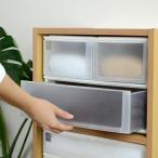 収納ケース ポスデコ ワイドサイズ 深型ショート2段 深型1段 カラーボックス用 ( 収納ボックス カラーボックス インナーボックス )