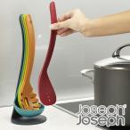 マグネットで重ねてキッチンツール5点を省スペースに収納可能