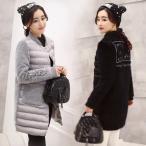 ショッピング中綿 中綿ジャケット 中綿ダウンコート レディース ロング丈 冬用 厚手 大きいサイズ ファー付フード 中綿ダウンコート 暖かい アウター 防風防寒 オシャレ 8色